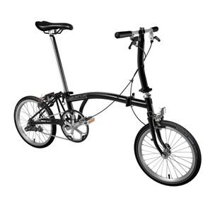 Brompton Steel S1E Folding Bike