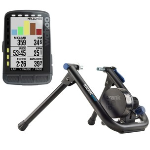 Wahoo KICKR SNAP + ELEMNT ROAM GPS Indoor Smart Training Bundle