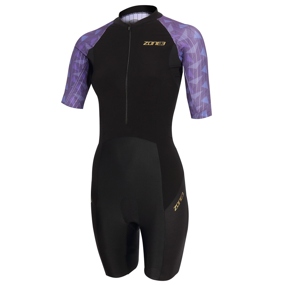 Zone3 Lava Short Sleeve Womens Trisuit
