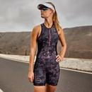Zone3 Activate Plus Stealth Camo Sleeveless Womens Trisuit