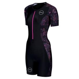 Zone3 Activate Plus Stealth Camo Short Sleeve Womens Trisuit