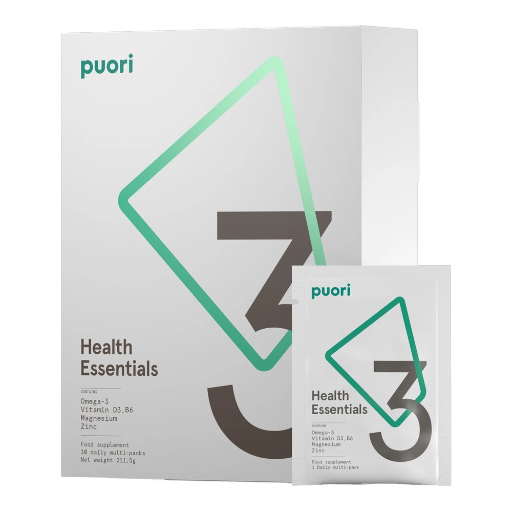 Puori P3 - Health Essentials - 30 Sachets