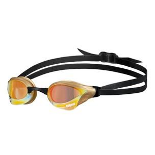 Arena Cobra Core Swipe Gold Mirror Goggles