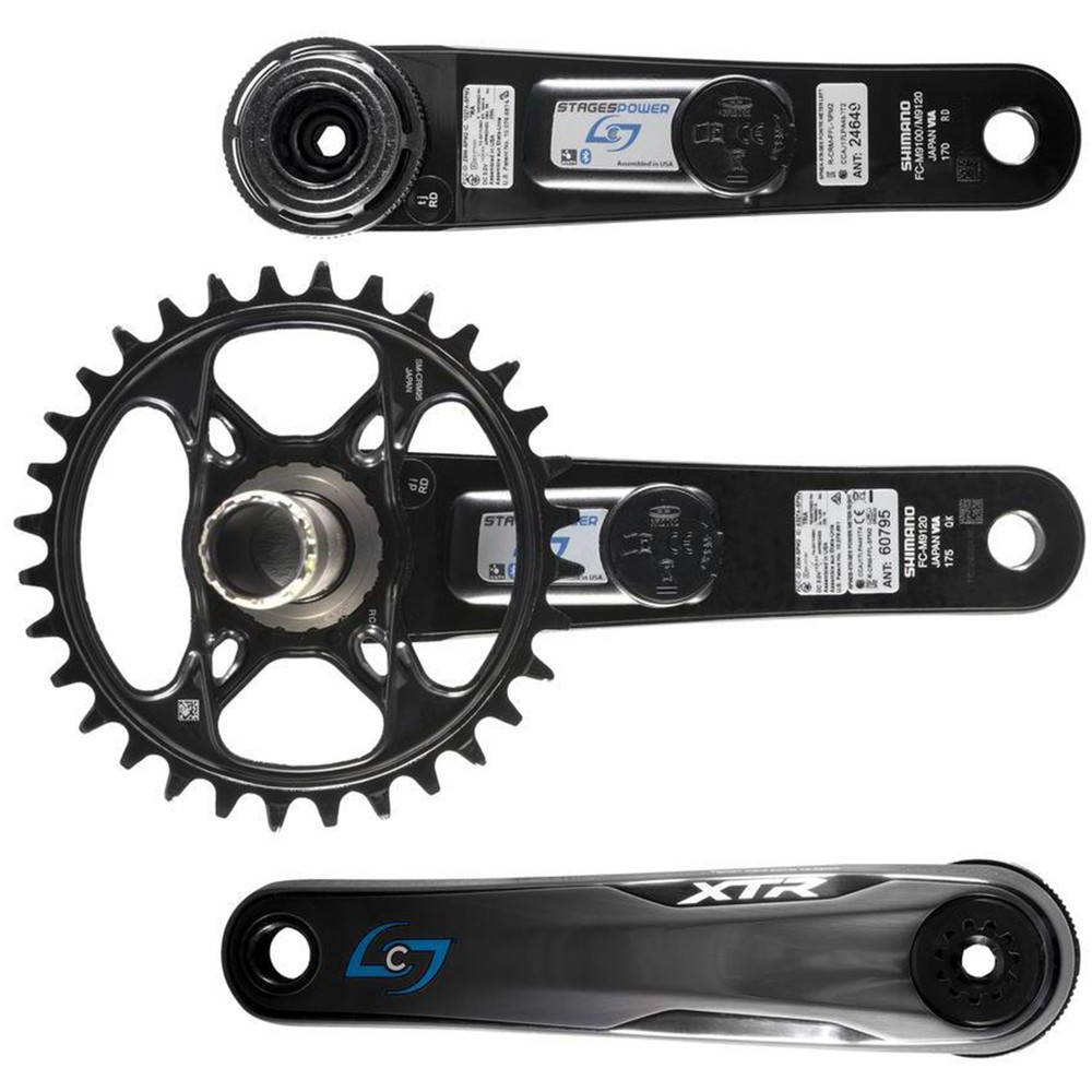 Stages Cycling G3 Shimano XTR M9120 LR Dual Sided Power Meter 32 Tooth