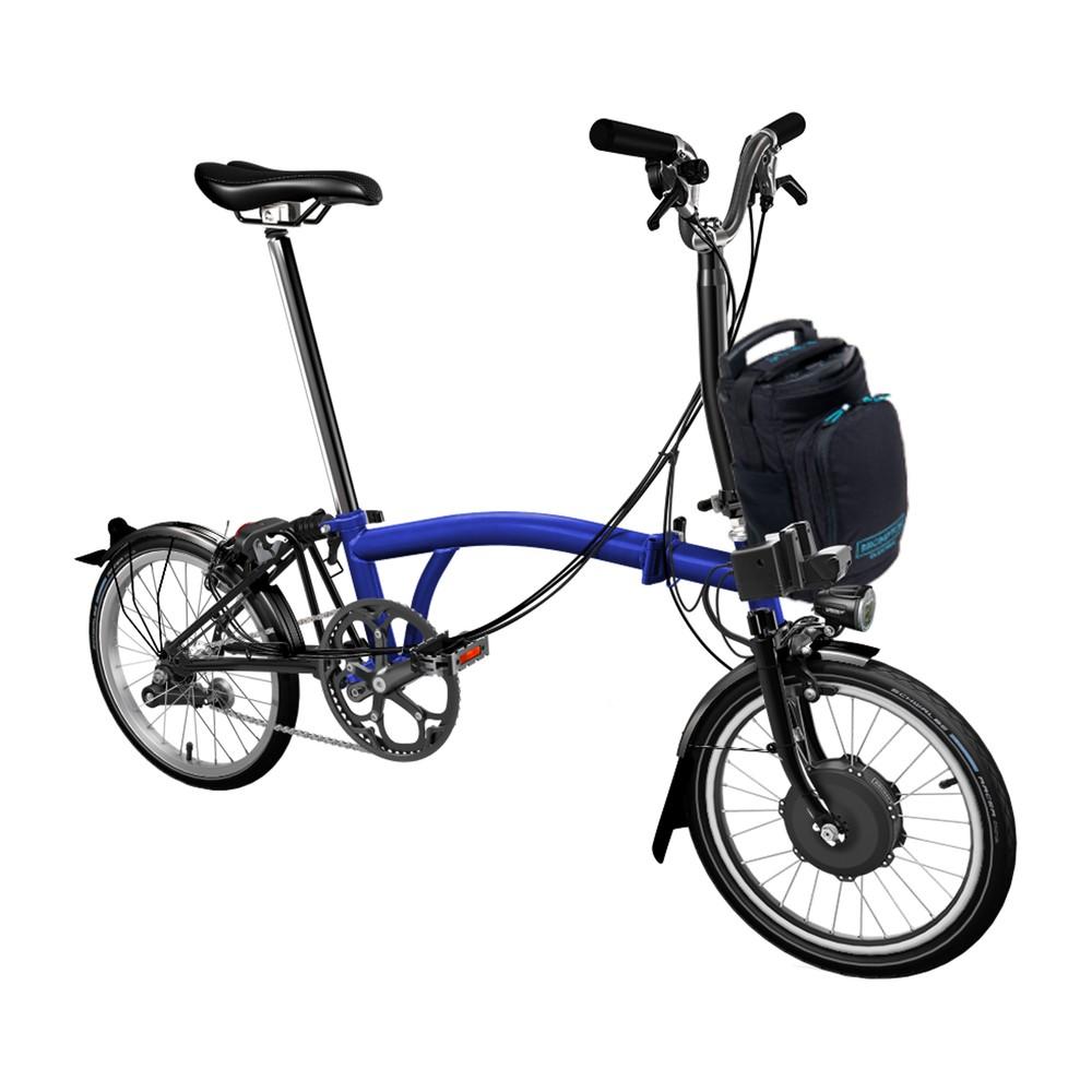 Brompton E-Bike Steel M6L Folding Electric Bike (Lacquer Finish)
