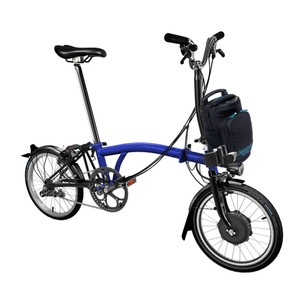 Brompton E-Bike Steel M6L Folding Electric Bike (Lacquer Finish)