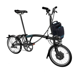 Brompton E-Bike Steel M6L Folding Electric Bike