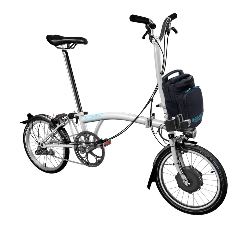 Brompton E-Bike H2L Steel Folding Electric Bike