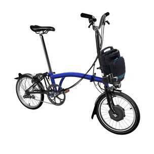 Brompton E-Bike H6L Steel Folding Electric Bike (Lacquer Finish)
