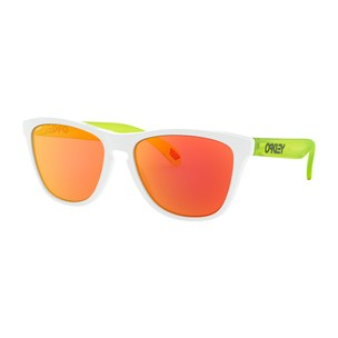 Oakley Frogskins Sunglasses With Prizm Ruby Lens - Origins Collection