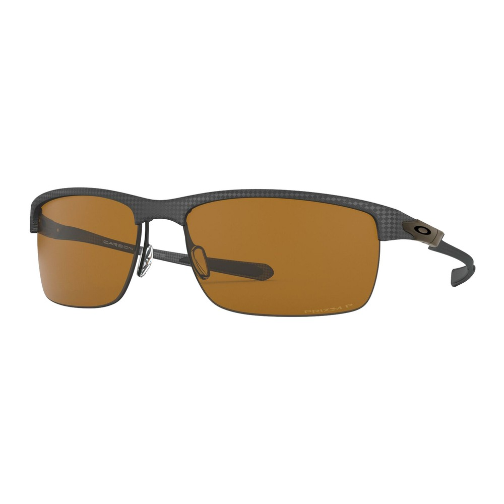 Oakley Carbon Blade Sunglasses With Prizm Tungsten Polarized Lens