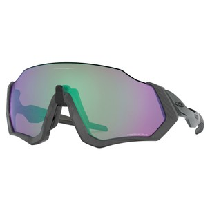 Oakley Flight Jacket Sunglasses With Prizm Road Jade Lens