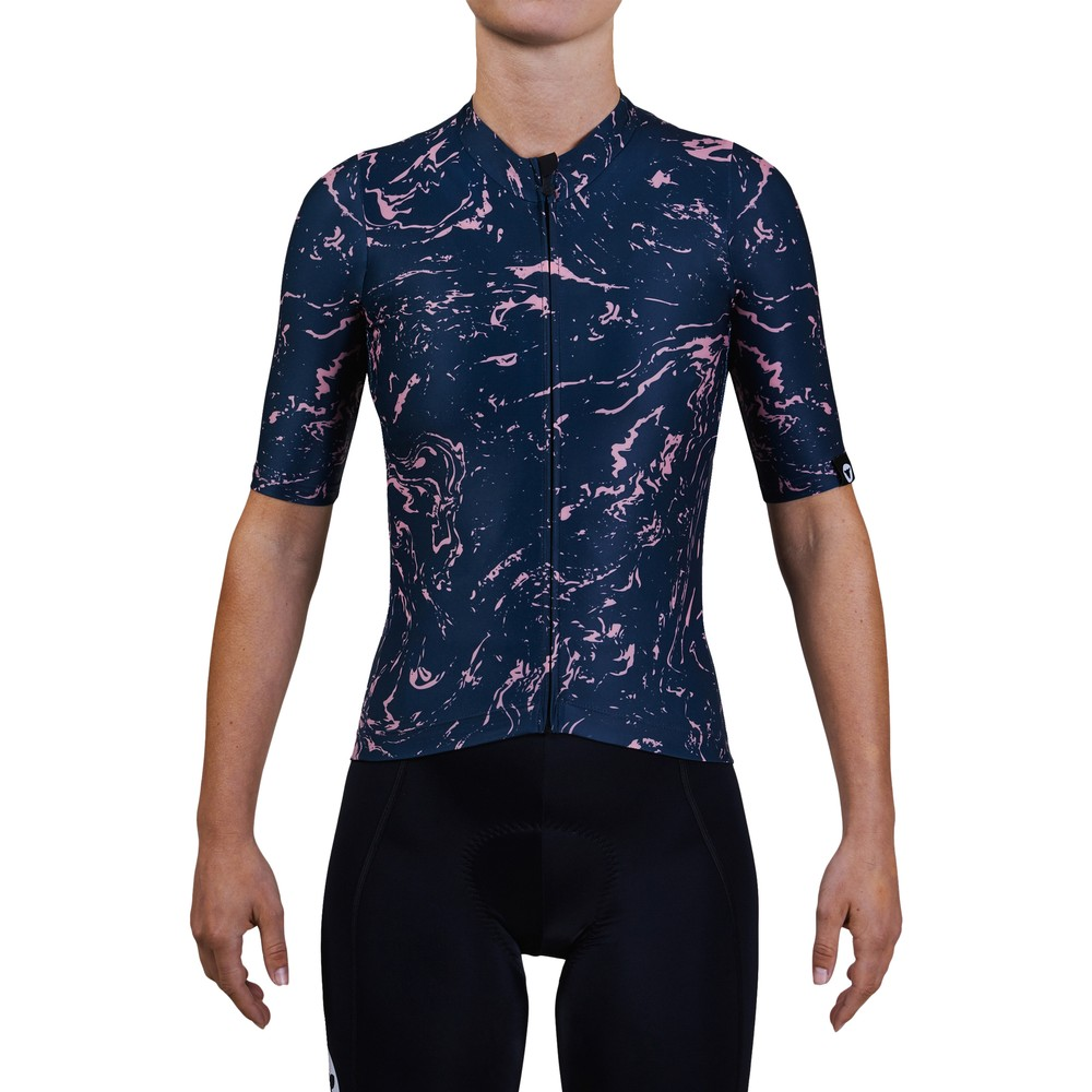 Black Sheep Cycling TC20 Marble Womens Short Sleeve Jersey