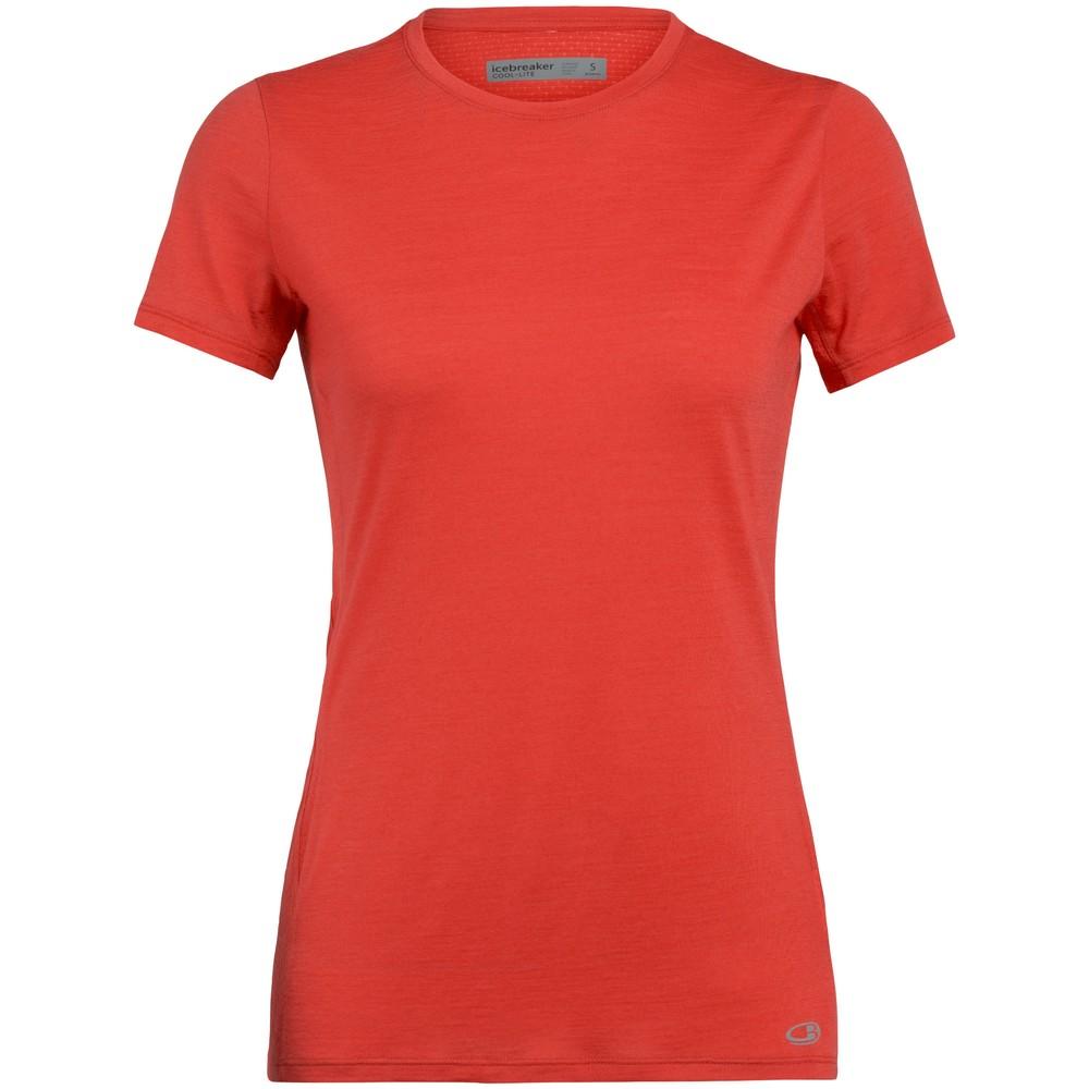 Icebreaker Amplify Womens Short Sleeve Running T-Shirt