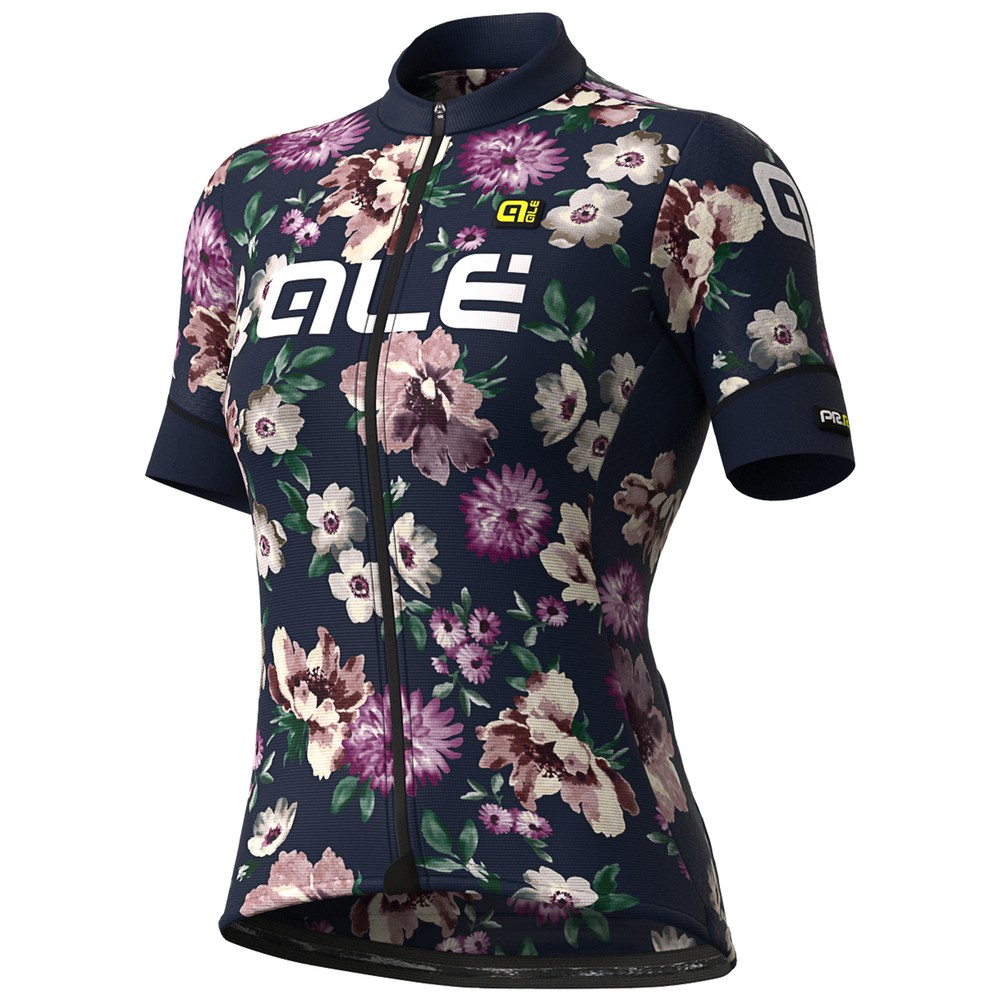 Ale Fiori Womens Short Sleeve Jersey