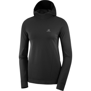 Salomon Agile Mid Womens Hooded Run Top