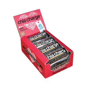 Chia Charge Flapjack Bar Box Of 12 X 50g