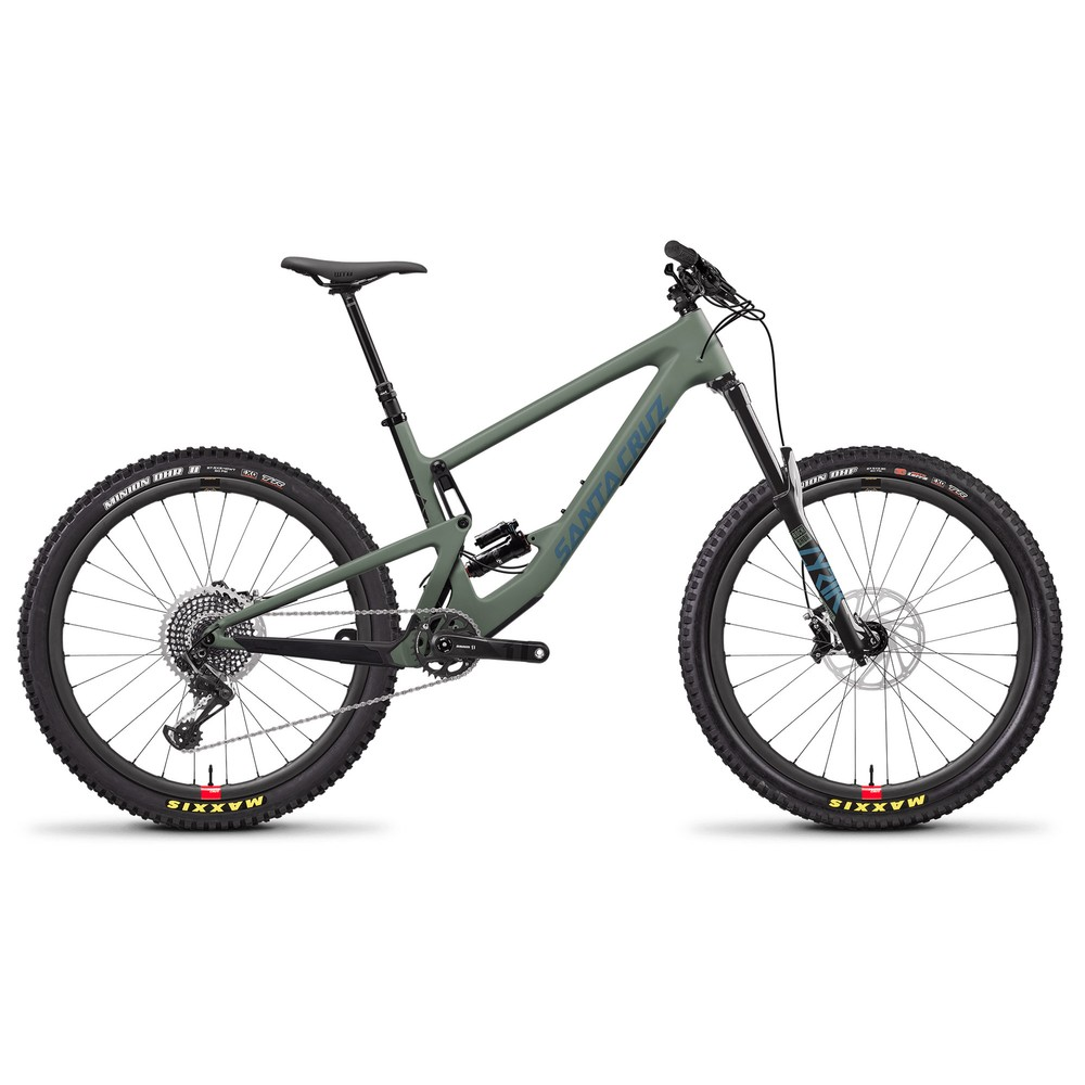 Santa Cruz Bronson Carbon CC X01 Reserve 27.5 Mountain Bike 2020