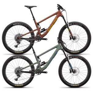 Santa Cruz Bronson Carbon CC X01 27.5+ Mountain Bike 2021