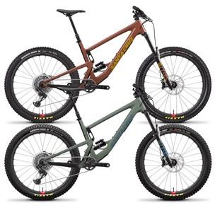 Santa Cruz Bronson Carbon CC X01 Reserve 27.5+ Mountain Bike 2021