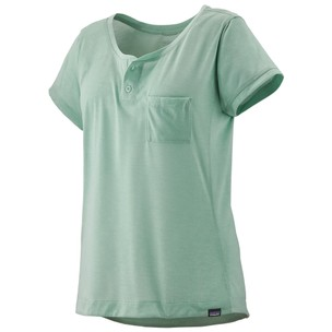 Patagonia Capilene Cool Trail Bike Henley Womens T-Shirt