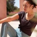 On Running Active-T Flow Short Sleeve Womens Run T-Shirt