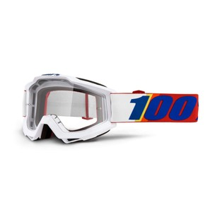 100% Accuri Goggles With Clear Lens