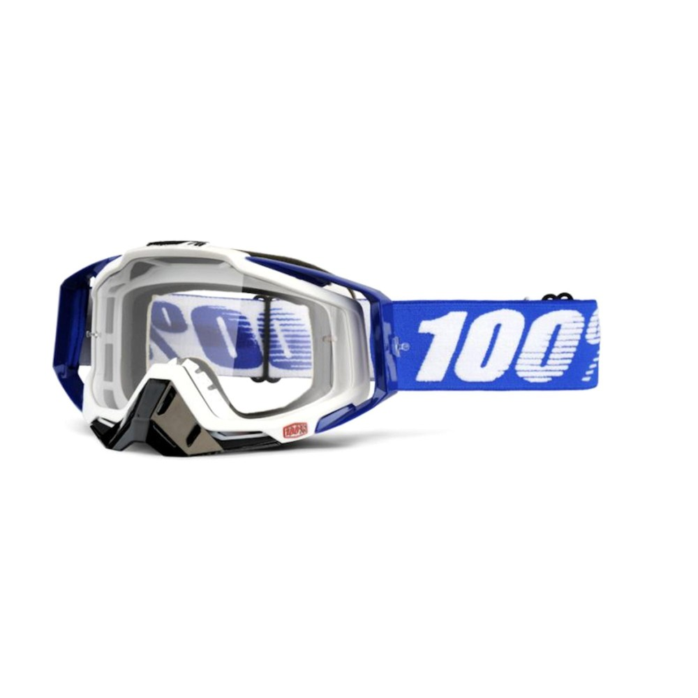 100% Racecraft Goggles With Clear Lens