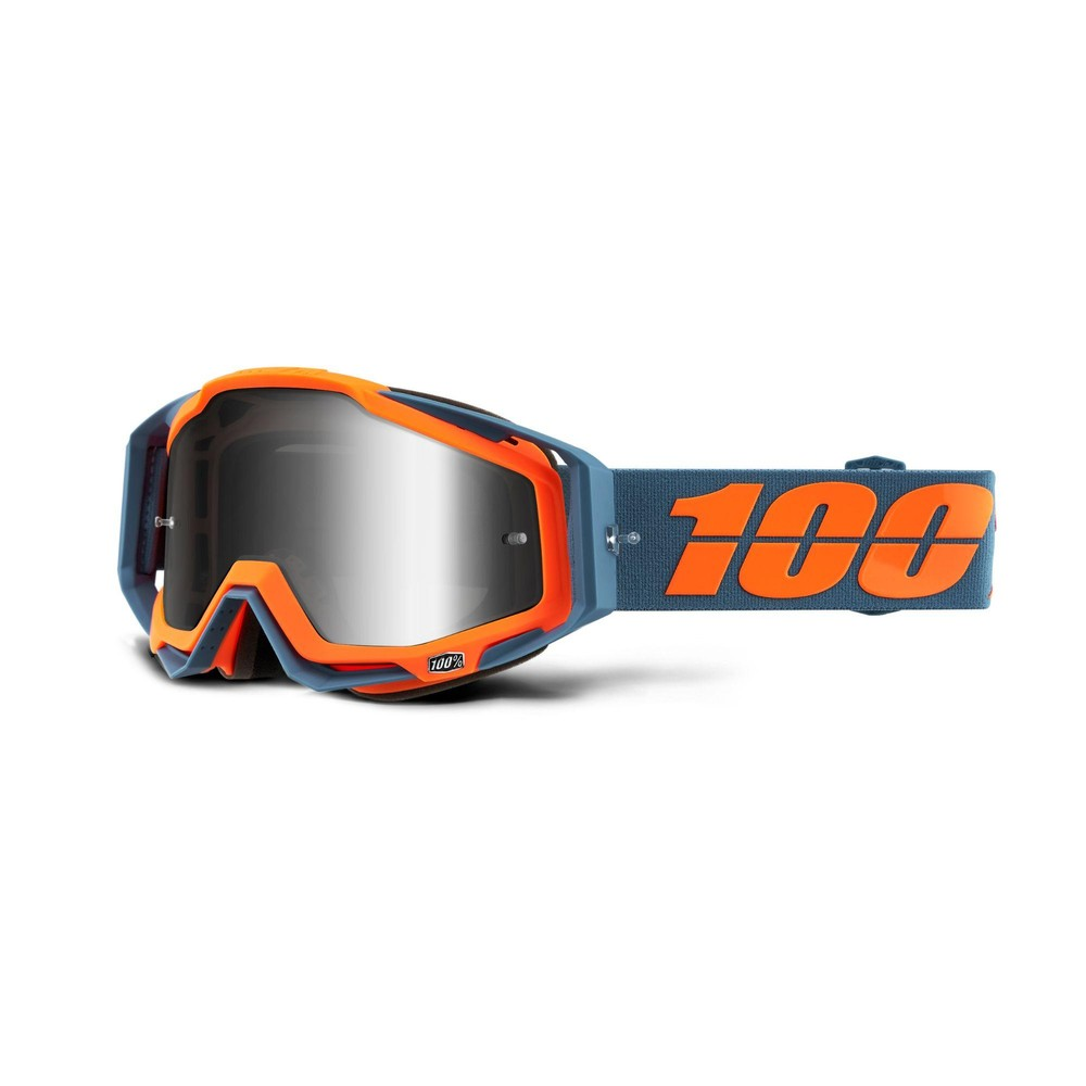 100% Racecraft Goggles With Silver Mirror Lens