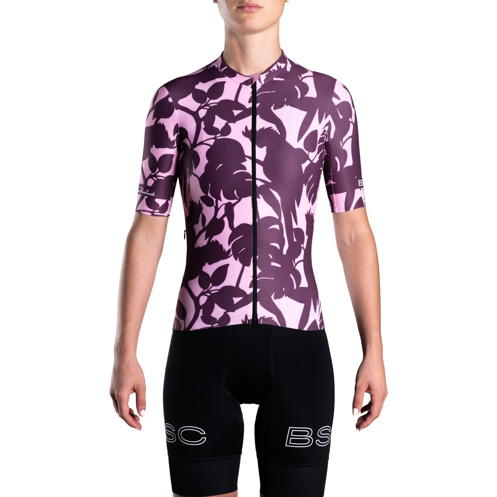 Black Sheep Cycling LTD Florence Broadhurst WMN Short Sleeve Jersey - Cockatoos