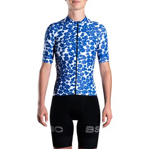 Black Sheep Cycling LTD Florence Broadhurst WMN Short Sleeve Jersey - Scatter Daisy