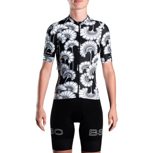 Black Sheep Cycling LTD Florence Broadhurst WMN Short Sleeve Jersey - Japanese Floral