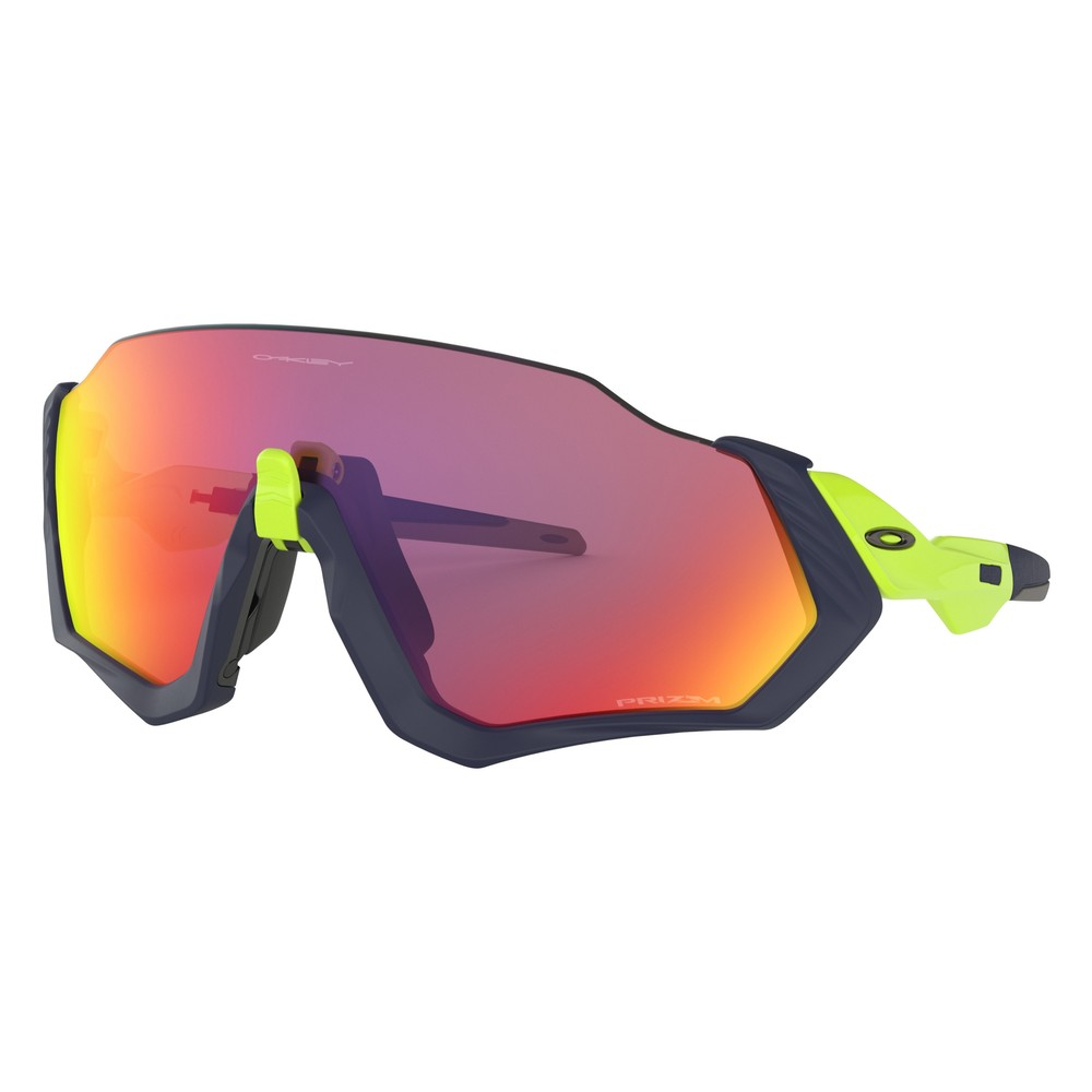 Oakley Flight Jacket Sunglasses With Prizm Road Lens