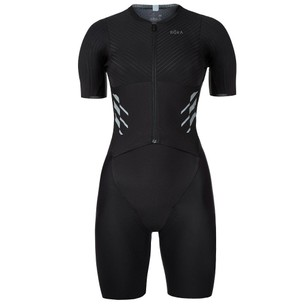 ROKA Elite Aero II Short Sleeve Womens Trisuit