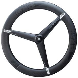 PRO 3K Carbon 3-Spoke Front Tubular Wheel