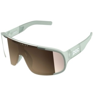 POC Aspire Clarity Sunglasses Apophyllite Green With Brown/Silver Lens