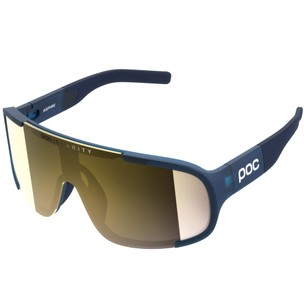 POC Aspire Clarity Sunglasses Lead Blue With Violet/Gold Lens