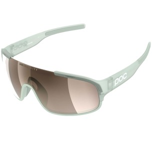 POC Crave Clarity Sunglasses Apophyllite Green With Brown/Silver Lens