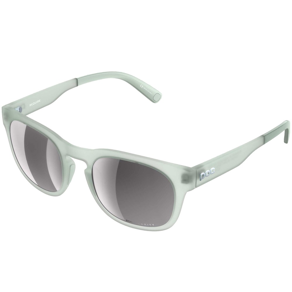 POC Require Sunglasses Apophyllite Green With Violet/Silver Mirror Lens