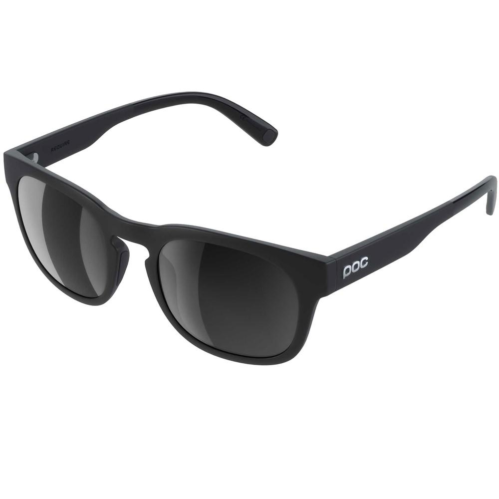 POC Require Sunglasses Uranium Black With Grey Polarised Lens