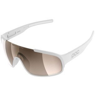 POC Crave Clarity Sunglasses Hydrogen White With Brown/Silver Mirror Lens