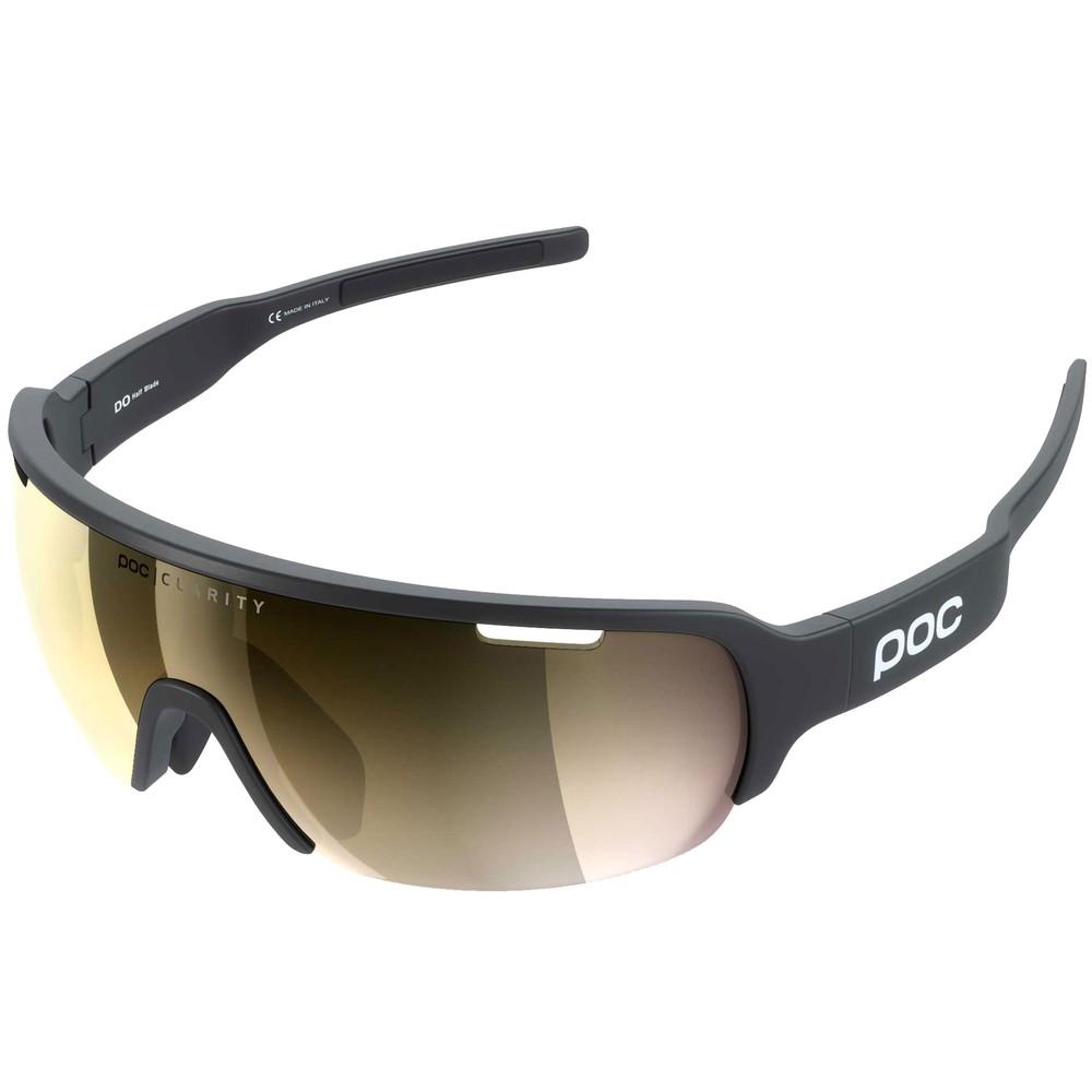 POC Do Half Blade Clarity Sunglasses With Violet/Gold Mirror Lens
