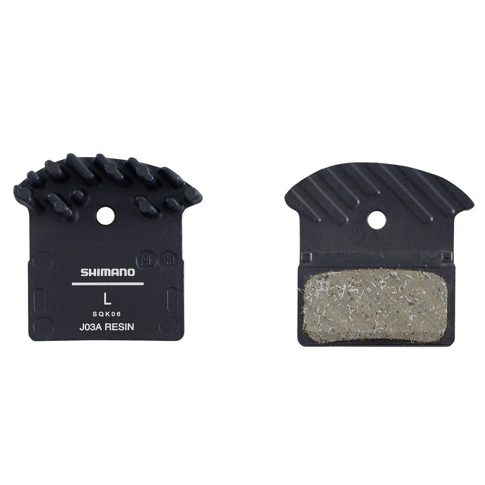 Shimano J03A Disc Brake Pads With Cooling Fins