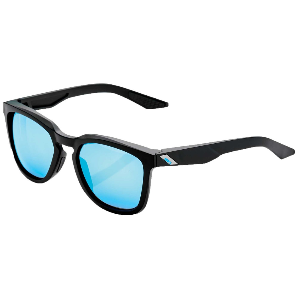 100% Hudson Sunglasses With  HiPER Blue Mirror Lens
