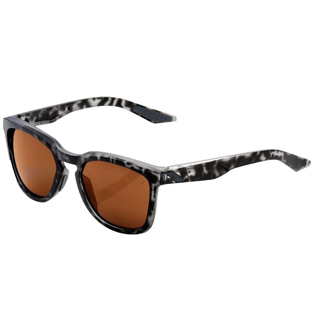 100% Hudson Sunglasses With Bronze Lens