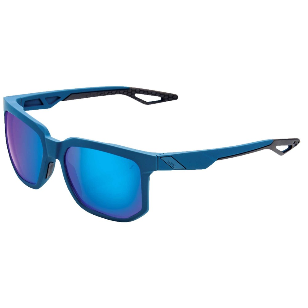 100% Centric Sunglasses With Blue Multilayer Mirror Lens