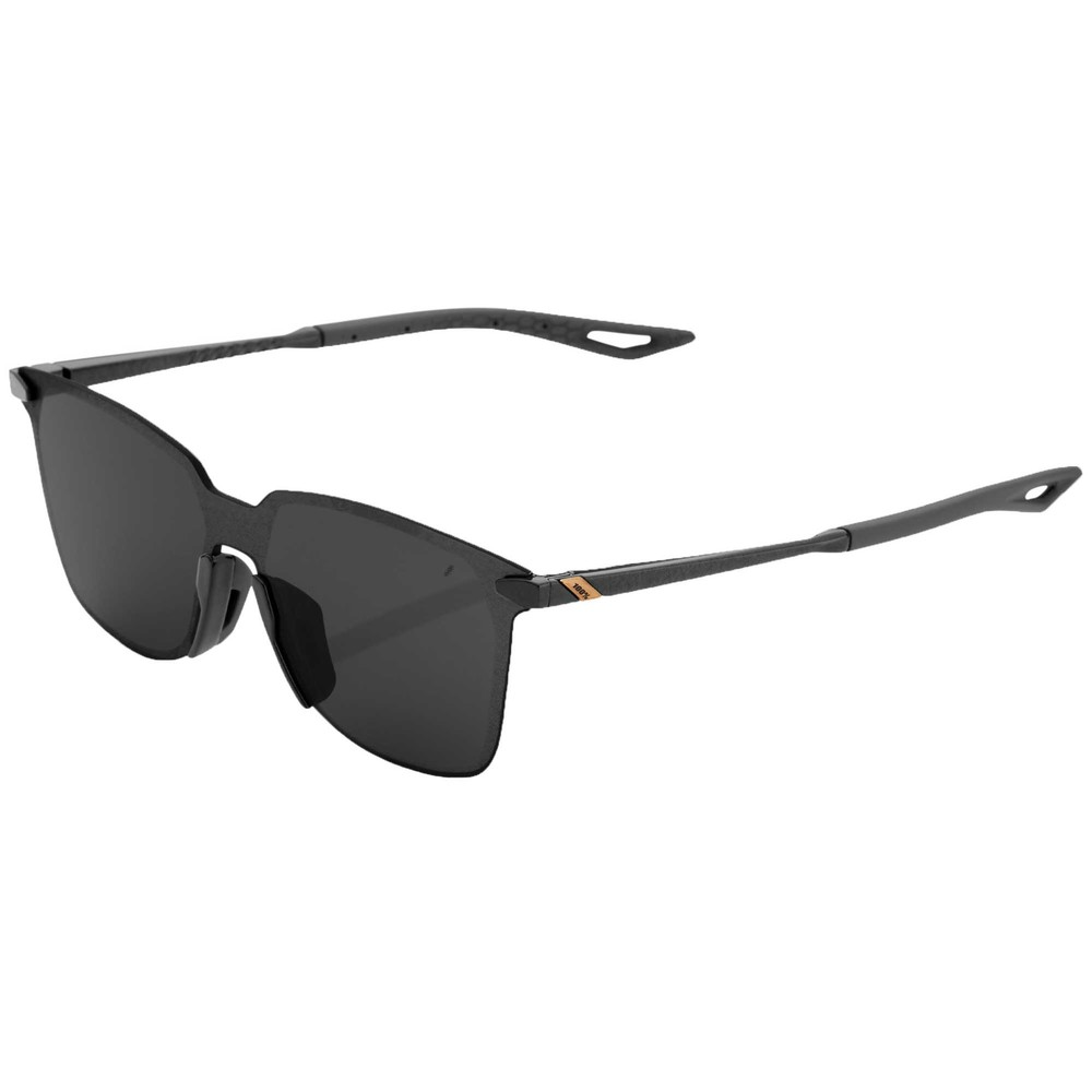 100% Legere Square Sunglasses With Smoke Lens