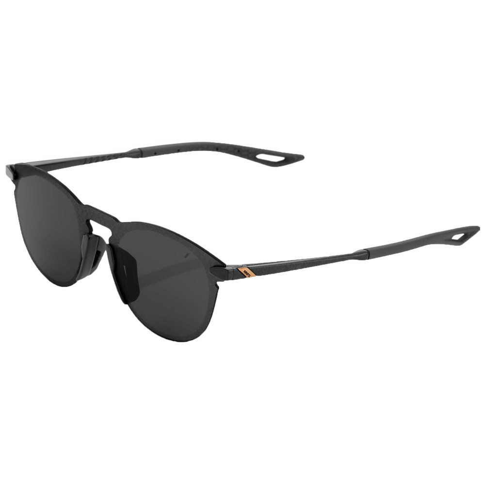 100% Legere Round Sunglasses With Smoke Lens