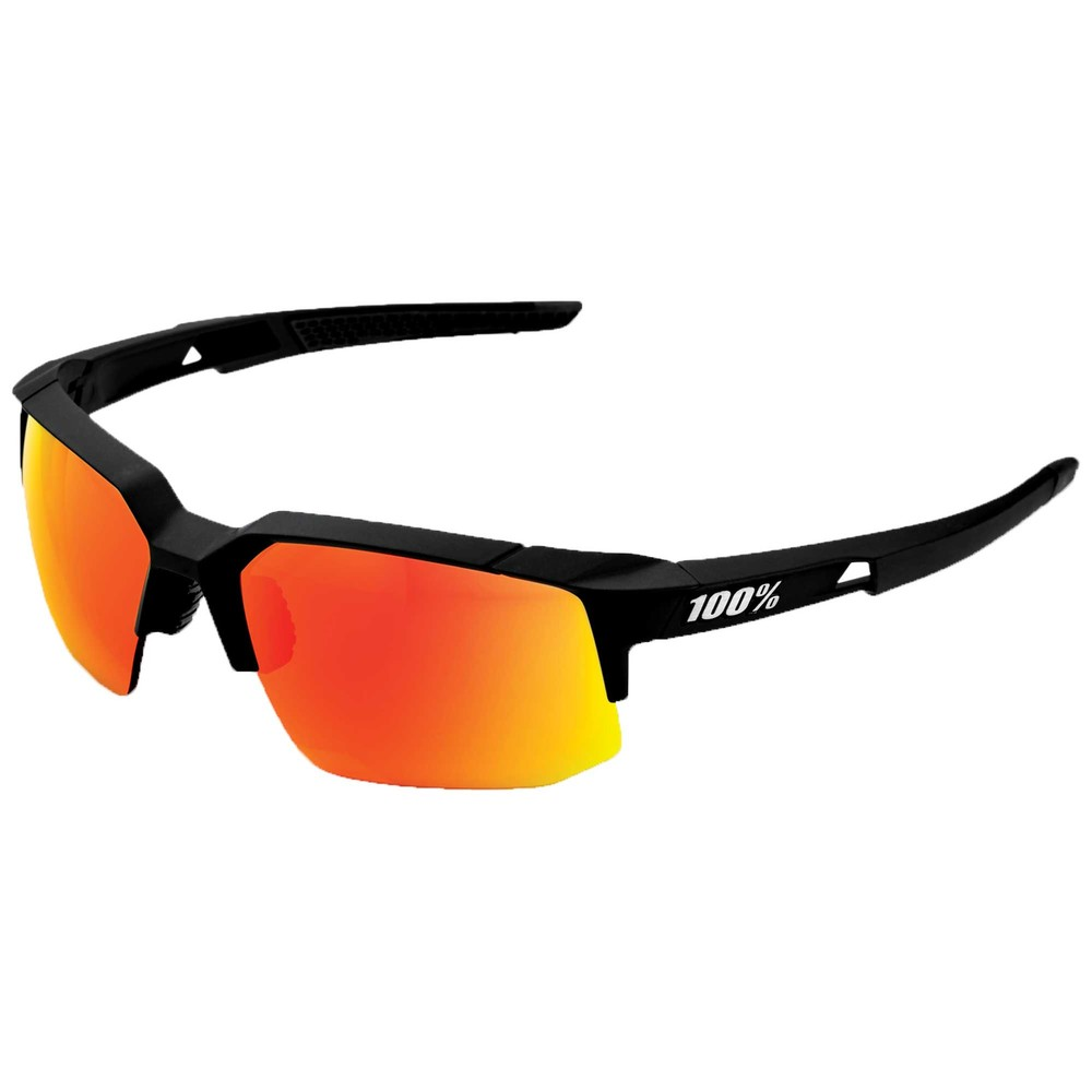 100% Speedcoupe Sunglasses With HIPER Red Mirror Lens