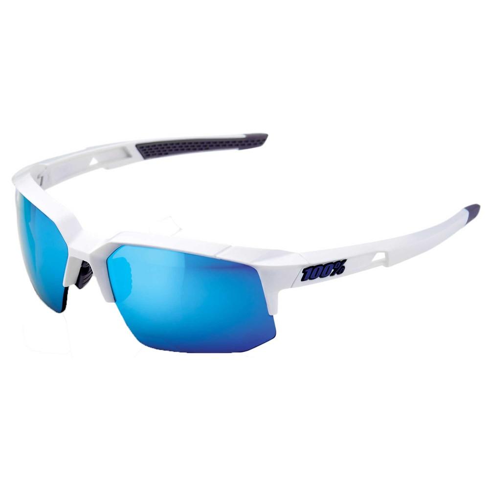 100% Speedcoupe Sunglasses With HiPER Blue Mirror Lens